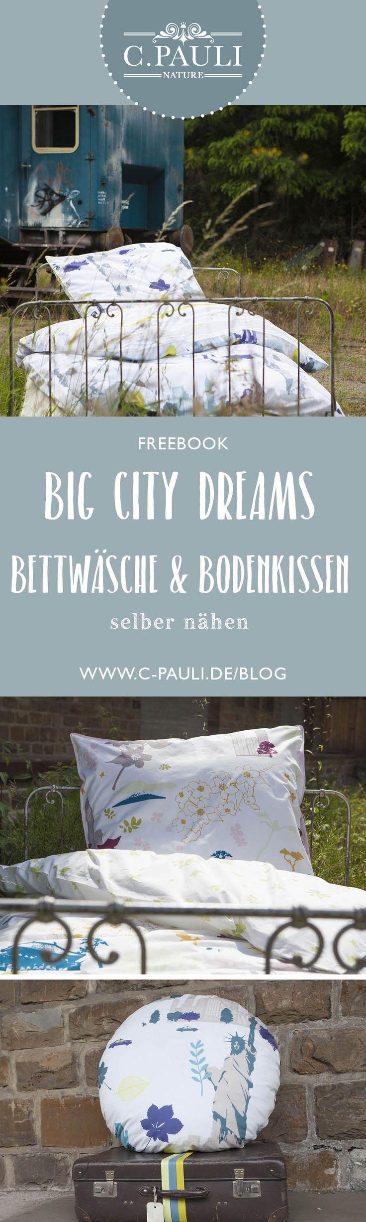 Dream a little dream of me … wir träumen von der großen Reise :: City-Special No 3 :: Wendebettwäsche und Bodenkissen | C.Pauli Nature Blog
