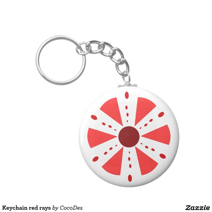 Keychain red rays