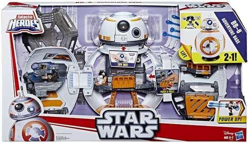 Layton: BB-8 Adventure Base Playset Galactic Heroes Star Wars Hasbro Toys