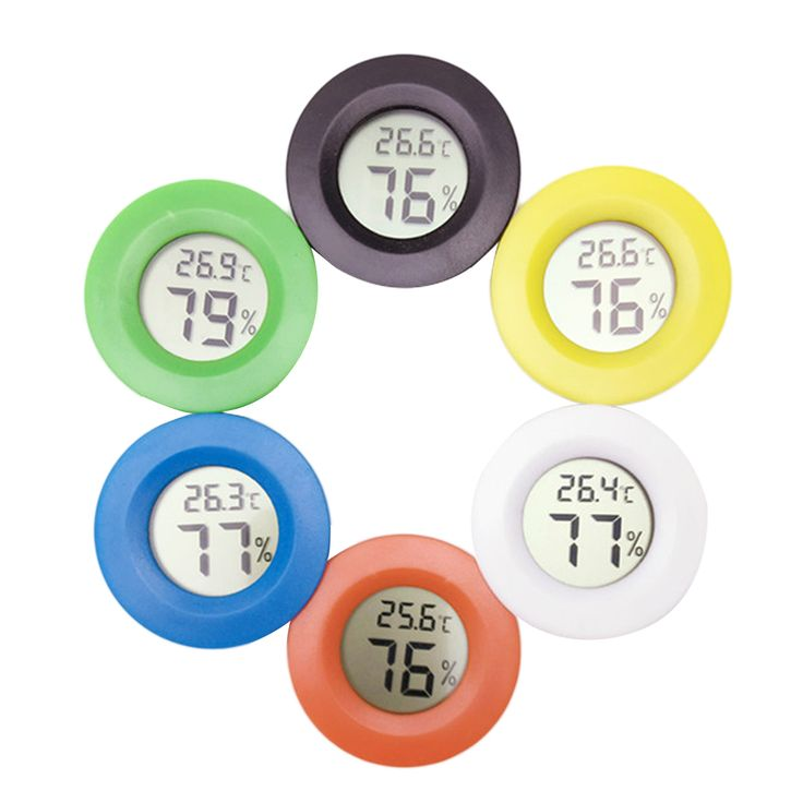 High 1pcs Mini LCD Digital Thermometer Hygrometer Fridge Freezer Tester Temperature Humidity Meter Detector  Price: 2.30 USD