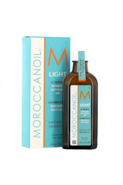 MOROCCANOIL® Light Olie behandling til fint og lyst hår 100 ml.