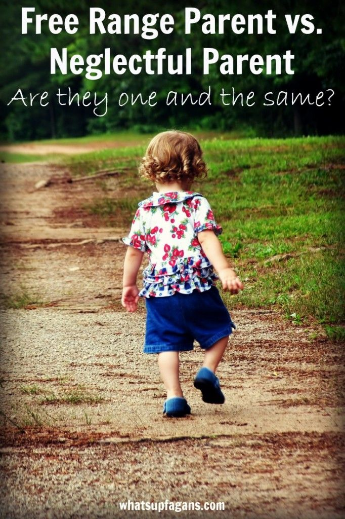 Is free range parenting the same as neglectful parenting?  The truth about free range kids and whether they are neglected or abused by their parents.