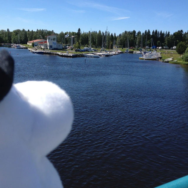 Maybe Moominpappa should take one of those boats for a spin. #MoominsinOulu