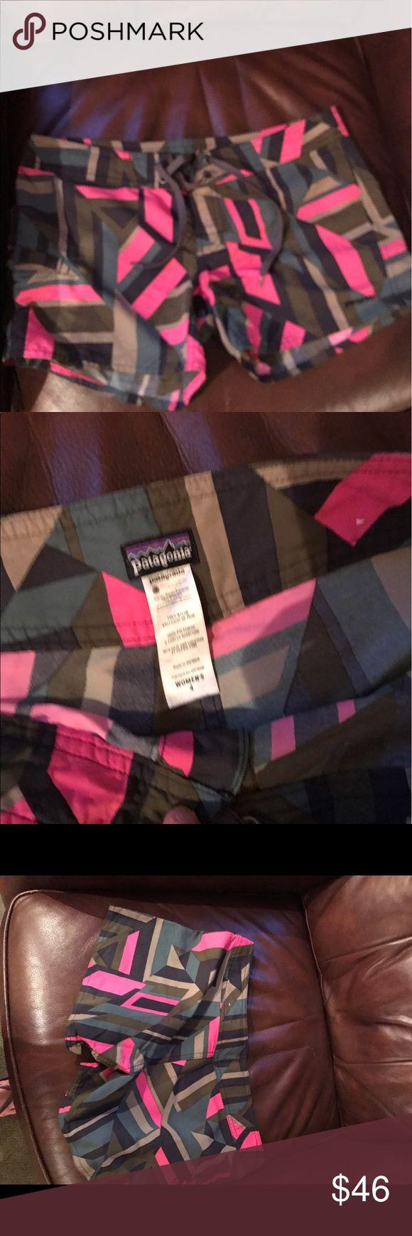 Patagonia board shorts Velcro, tie waisted Patagonia Shorts