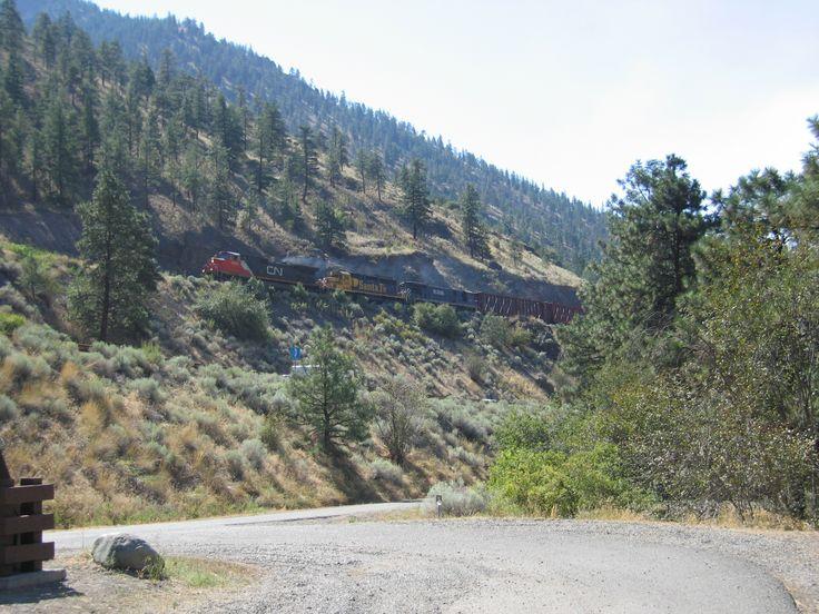 CN/BNSF - Gold Pan Provincial Park, BC