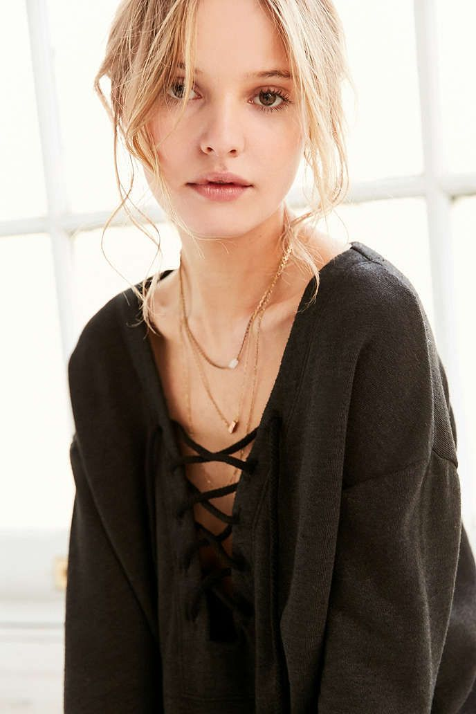 Truly Madly Deeply Lakeside Pullover Top - Urban Outfitters