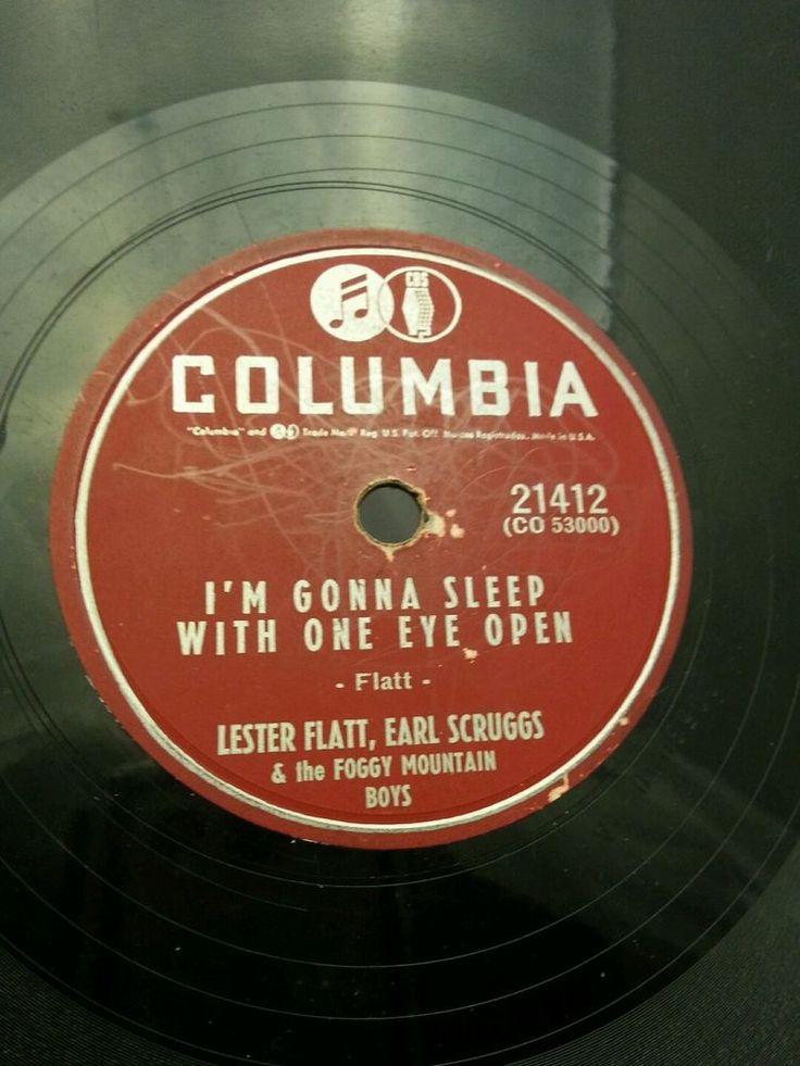 Vintage columbia record Lester Flatt Earl Scruggs Foggy Mountain Boys 21412 78