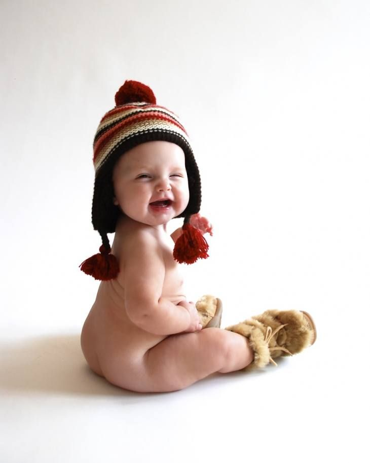 winter baby photo idea @valérie heinrich-spindler Bovy