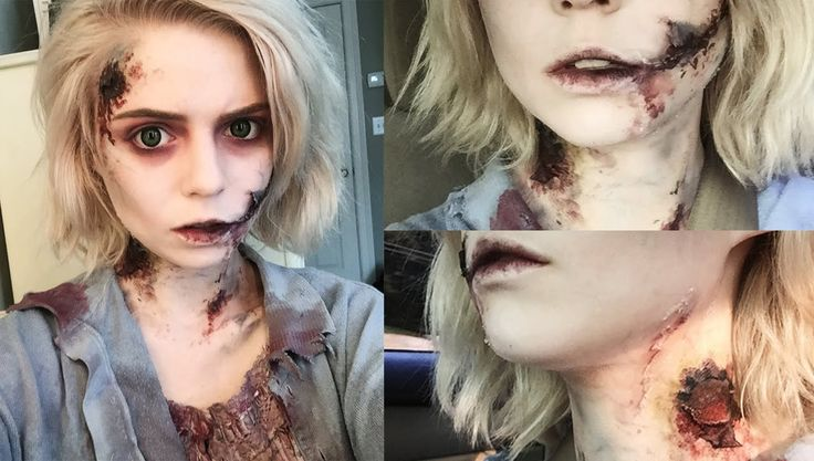 Maquillaje zombie.