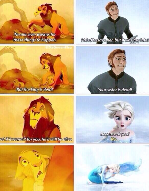 Lion King and Frozen