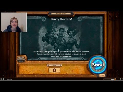 Hearthstone tavern brawl - Party Portals