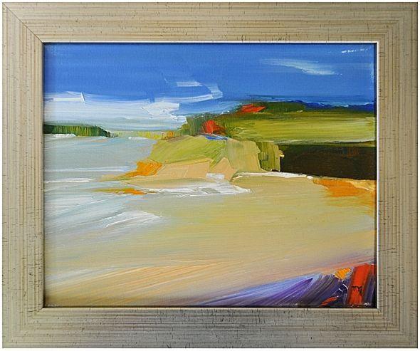 Tidal Flats 3 by Tom Yacoe