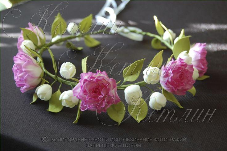 браслет с цветами из фоамирана - Поиск в Google
