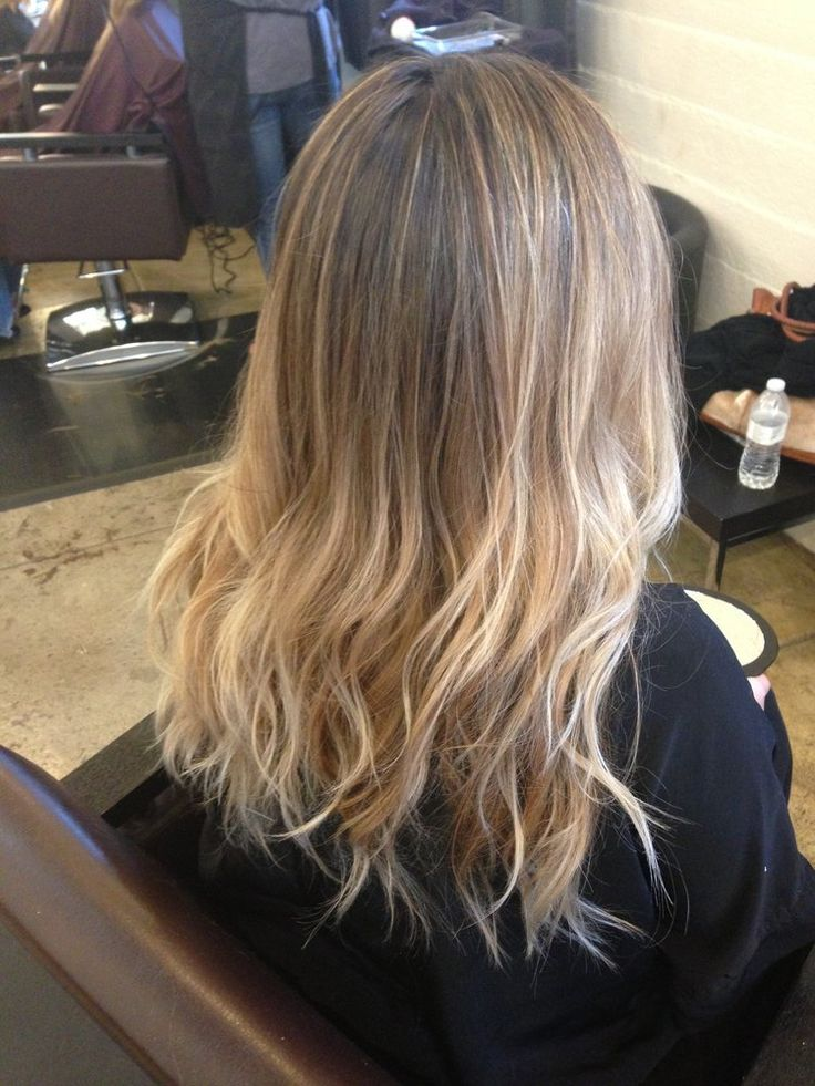 Balayage sombre bronde color done by jessica chadwick at for Salon sombre