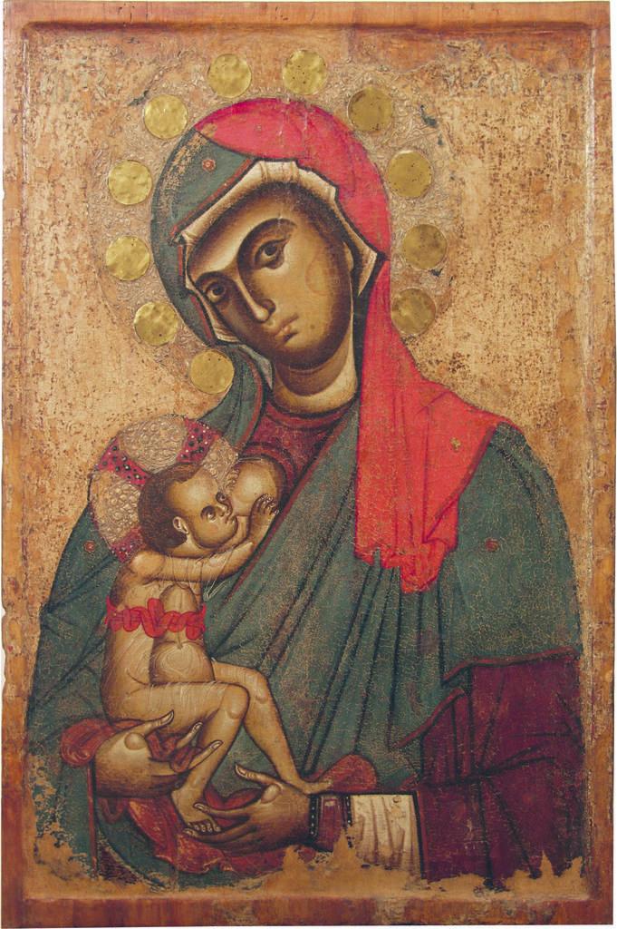 Anonimo - Madonna del Pilerio (Patrona di Cosenza) - XII secolo - Duomo di Cosenza