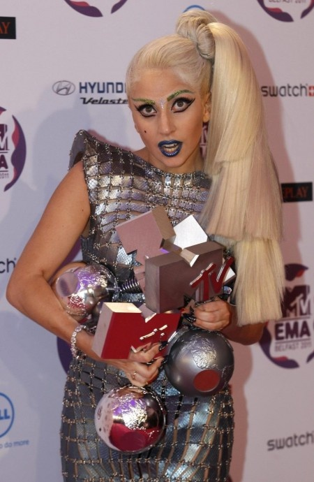 Lady Gaga - Awards   lady gag singer and maybe a actor... or actric....