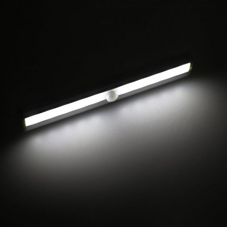 10 LED USB Battery Recharging Wall Lamp Cabinet Wardrobe Light IR Infrared Motion Detector Wireless Sensor Lighting Closet Night #Affiliate