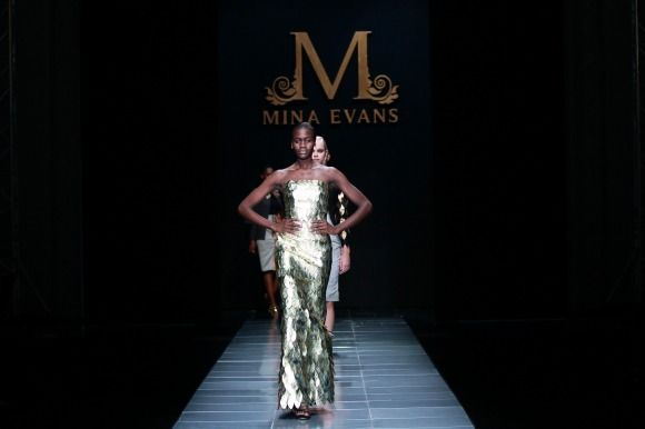 MBFW AFRICA 2013 - Mina Evans Collection. Credit: SDR Photo
