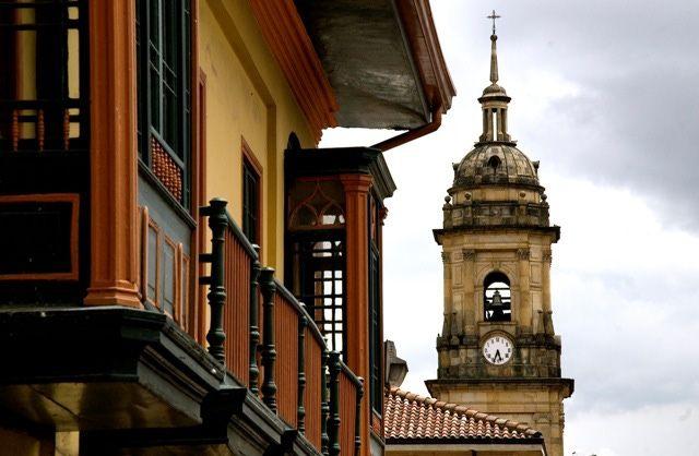 Bogota Colombia Photos: La Candelaria Spire