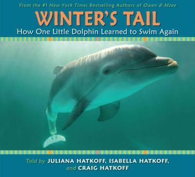 Describes the rescue and rehabilitation of a young Atlantic bottlenose dolphin, named Winter, who received an artificial tail after being badly injured when caught in a crab trap. Gr.3-6