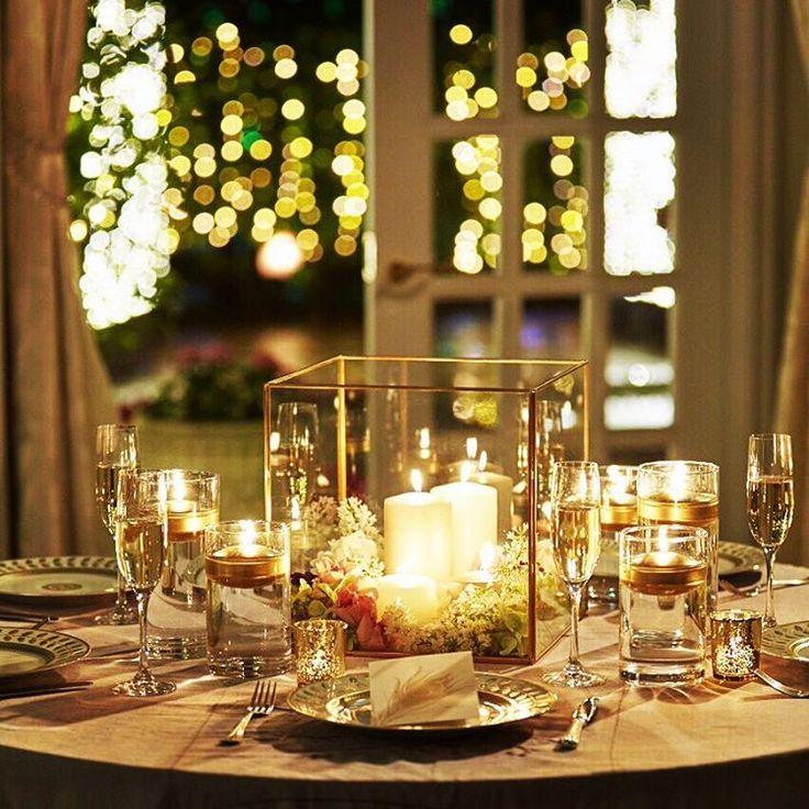 大人ゴージャスなゲストテーブル。 キャンドルを灯すと、揺らめきがお互いに反射し合いキラキラとした幻想的な雰囲気に。 シャビー加工されたゴールドのヴィンテージグラスから零れるあかりはシャンパンで何度も乾杯したくなるような美しさです。 . ■Share your candle lifeキャンペーン実施中■ #キャンドルライフ01 のハッシュタグでお気に入りのキャンドルや使用シーンを投稿するだけで豪華キャンドルセットが当たるキャンペーン実施中です!詳細は少し前のキャンペーン投稿画像をご確認ください! . #kameyamacandlehouse#カメヤマキャンドルハウス#キャンドル#candlewedding#キャンドルウエディング#結婚式#ブライダル#プレ花嫁#ゲストテーブル#結婚式準備#テーブルデコレーション#シャンパン#candle#前撮り#キャンドルのある風景