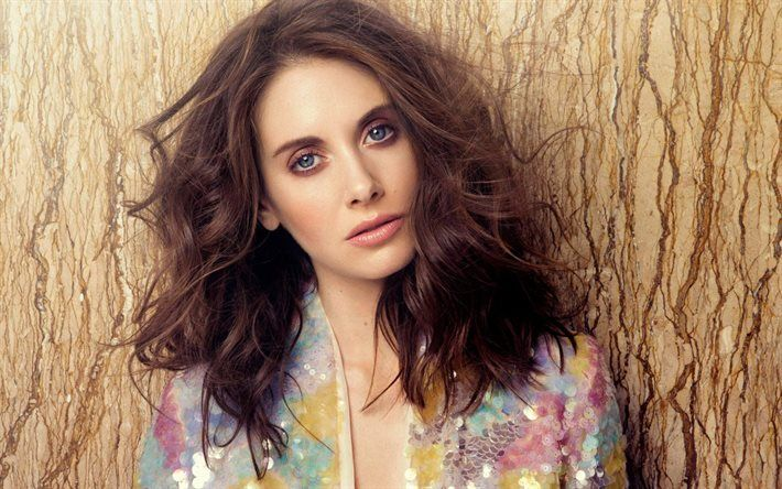 actress, celebrity, beautiful girl, alison brie, brunette