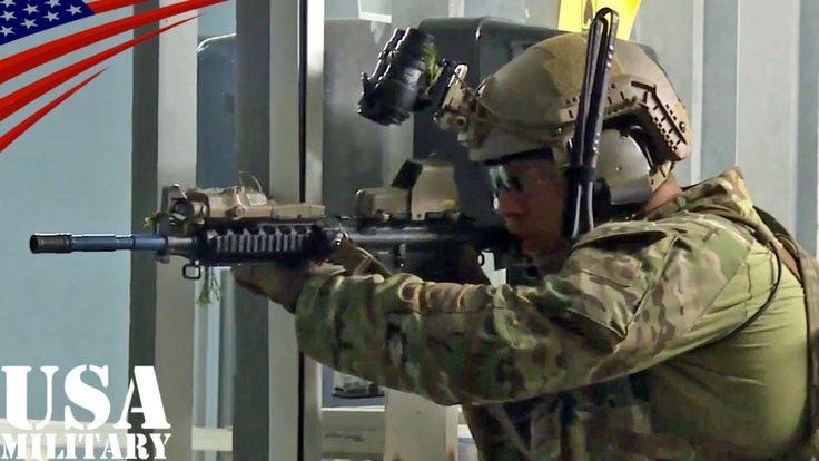 アメリカ陸軍・第7特殊部隊グループ(グリーンベレー)の近接戦闘(CQB, Close Quarters Battle)訓練 チャンネル登録はこちら→http://www.youtube.com/subscription_center?add_user=UsaMilitaryChannel