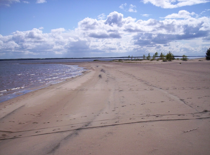 Ärjä is an island on the lake called Oulujärvi.