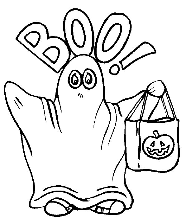 24 Free Printable Halloween Coloring Pages for Kids ...
