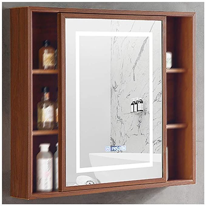 Rkrzlb Bathroom Cabinet With Mirrors Single Door Bathroom Mirror