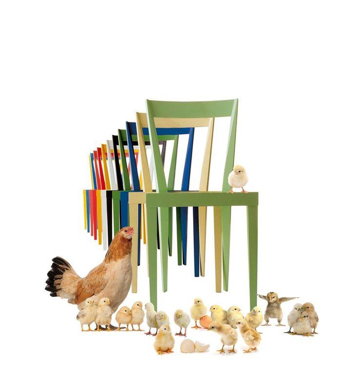 BUONA PASQUA _ HAPPY EASTER! Livia chair > Design Gio Ponti. www.labbateitalia.it