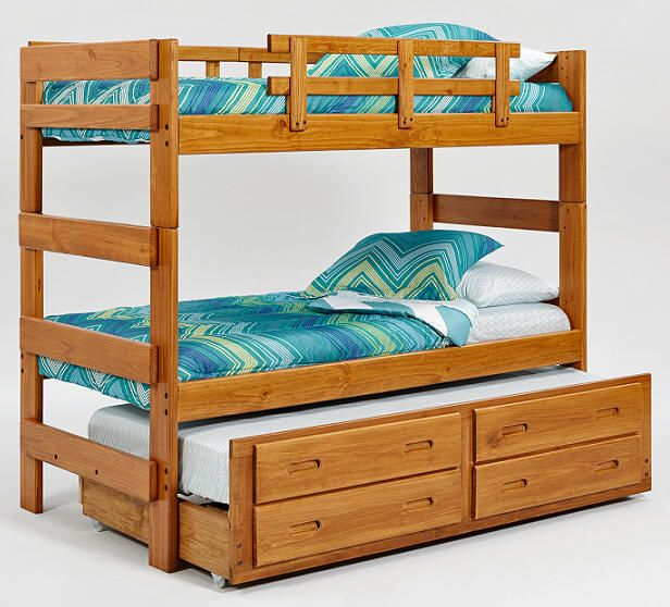 Boone Twin over Twin Combo Bunk Bed