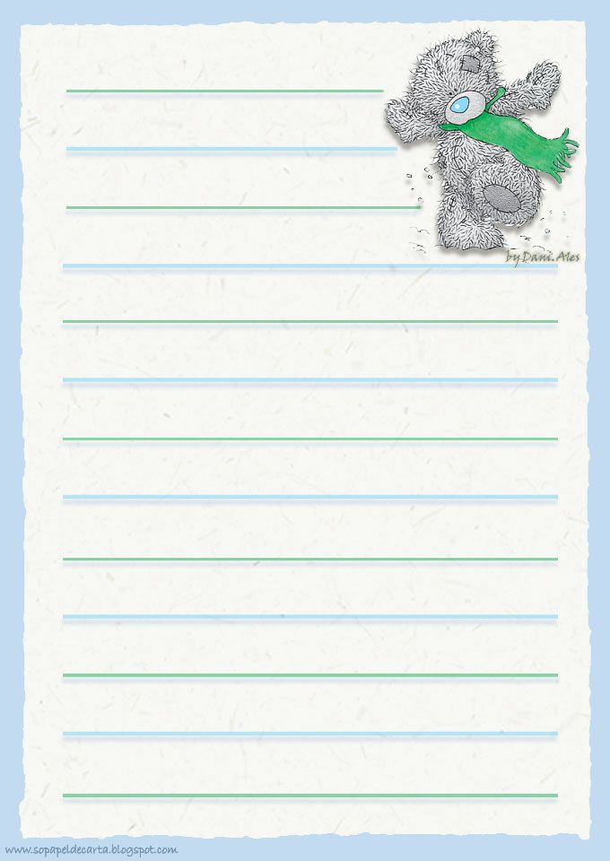 128 best stationary images on Pinterest - free printable writing paper