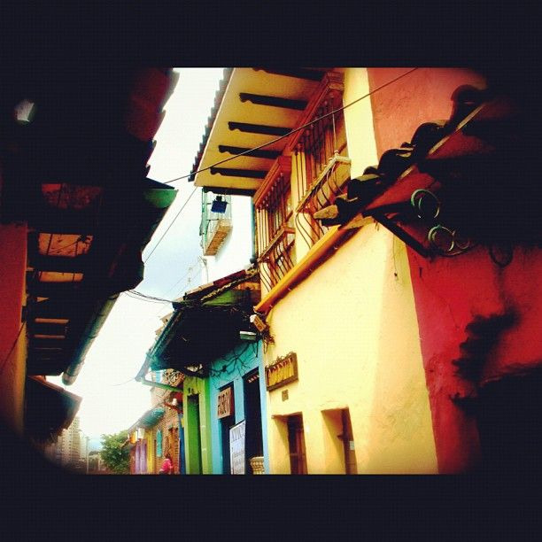 """""""La Candelaria """"Just submitted my entry to @SocialMediaWeek's #InstagramYourCity for Bogota!"""" by @andreadescans"""