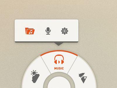 By Tanveer Junayed: Design Inspiration, Gui Webdesign, Ui Design, Mobile Ui, Web Design, Design Ui Ux, Inspiration Ui, Circle