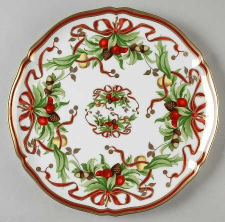 tiffany tiffany holiday white background japan service plate charger christmas