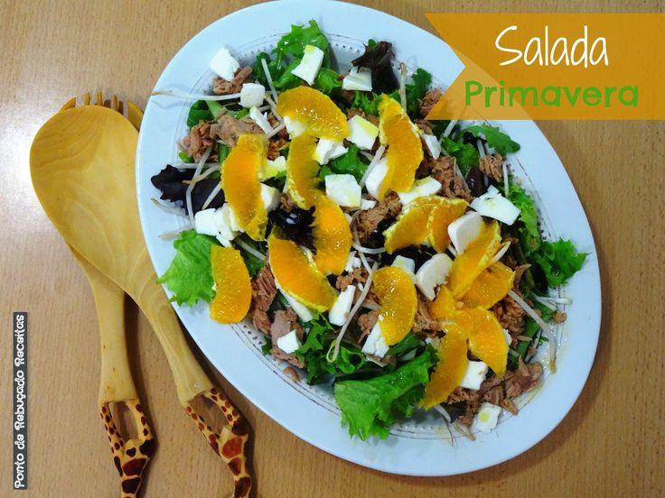Ponto de Rebuçado Receitas: Salada Primavera