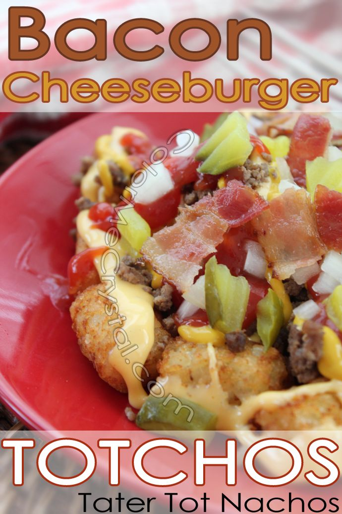 What are totchos? They're tater tot nachos! So simple and easy and ...