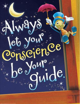 Jiminy Cricket...Conscience Be Your Guide Poster