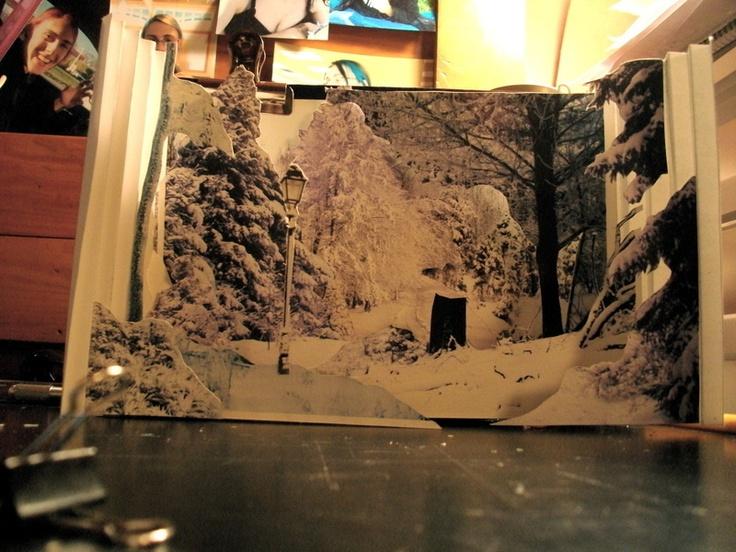 Narnia Tunnel Book