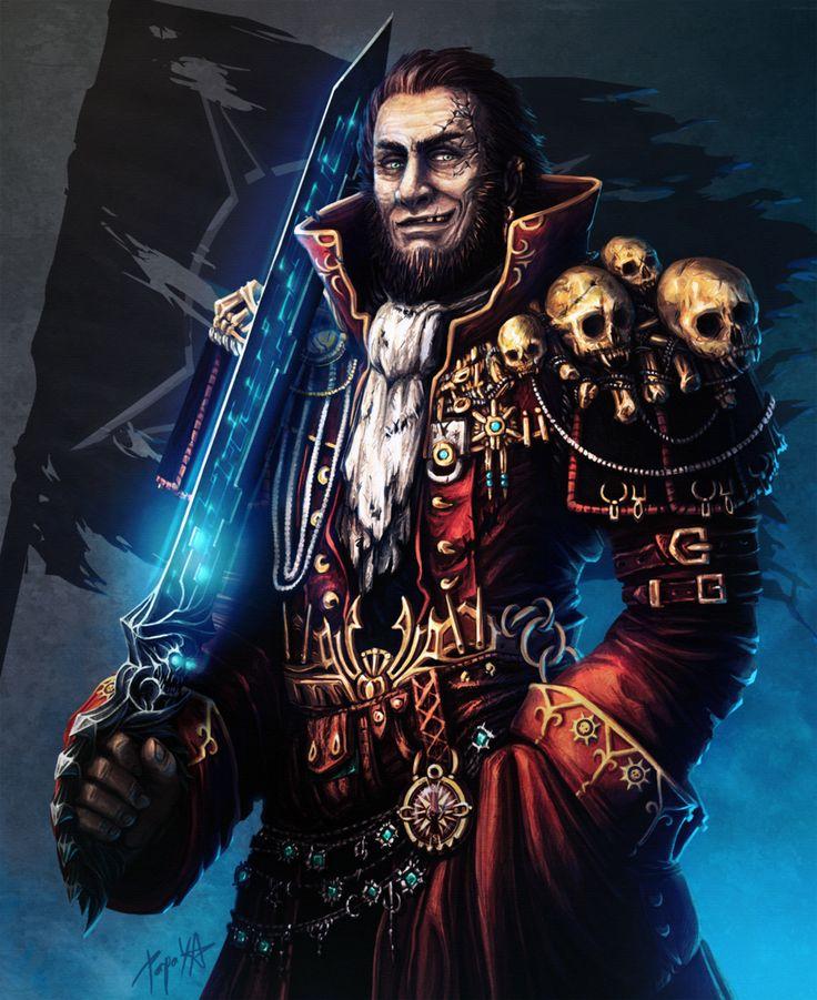 Captain Gideon Darkholme by Papaya-Style.deviantart.com on @deviantART