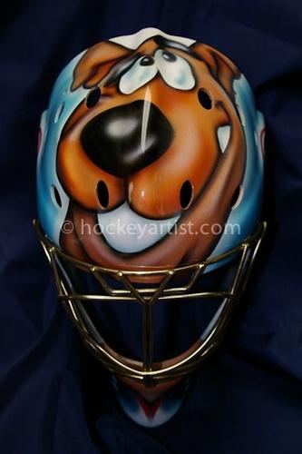 Goalie Mask Airbrushing by Cam Wilson - hockeyartist.com