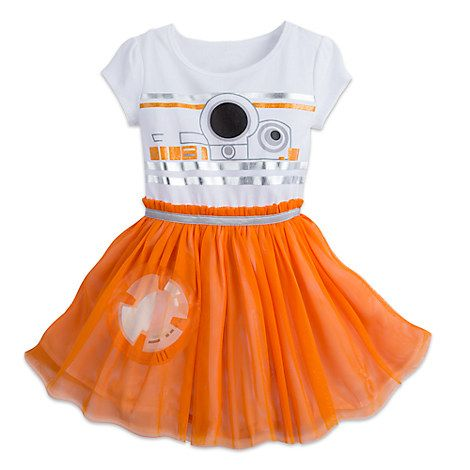 BB-8 Dress for Girls - Star Wars