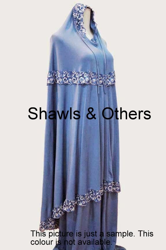 Mukenah / Telekung With Lace Prayer Set For Muslimah by MairahsCollezion on Etsy
