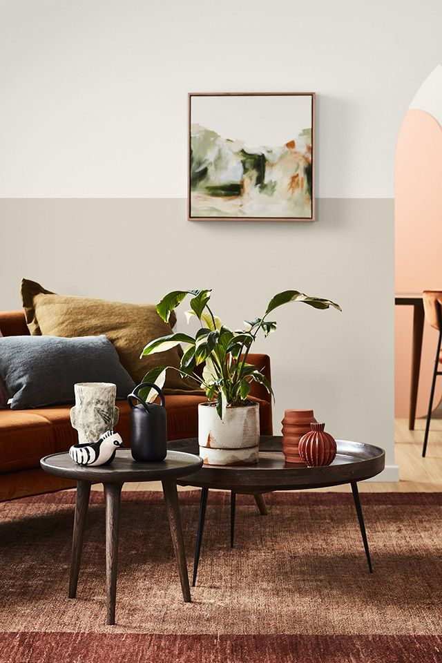 TDC: Autumnal hues from Dulux. Styling Bree Leech, photo Mike Baker