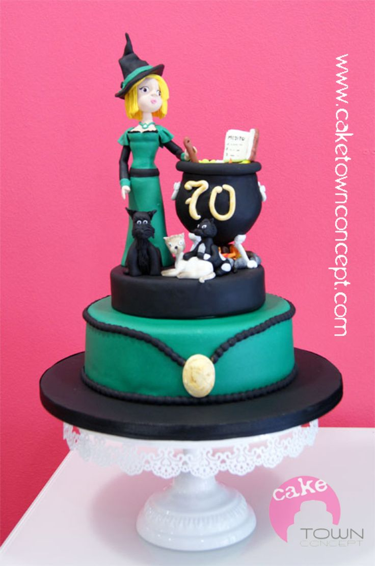 Witch Decorating 27 Best Top Witch Cakes Images On Pinterest Witch Cake