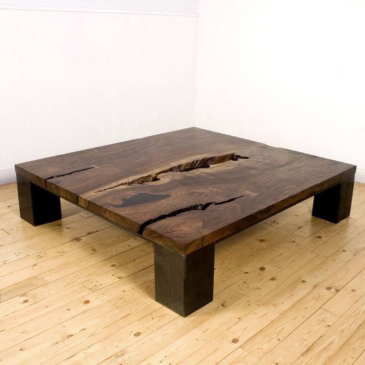 Rustic One Of A Kind Natural Teak Wood Slab Coffee Table: 1003 Best Images About Furniture On Pinterest