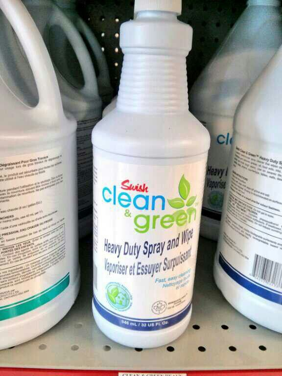 Clean and green ~ great for tough ones @ swish maintenance  http://www.swishclean.com/default.htm?DS=1