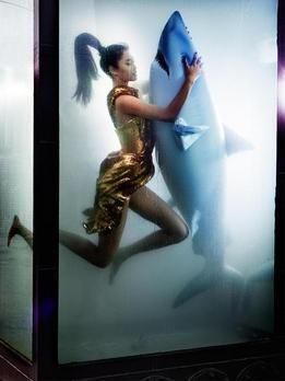 Originale vom Unterwasser Shooting - Germany's next Topmodel 2015