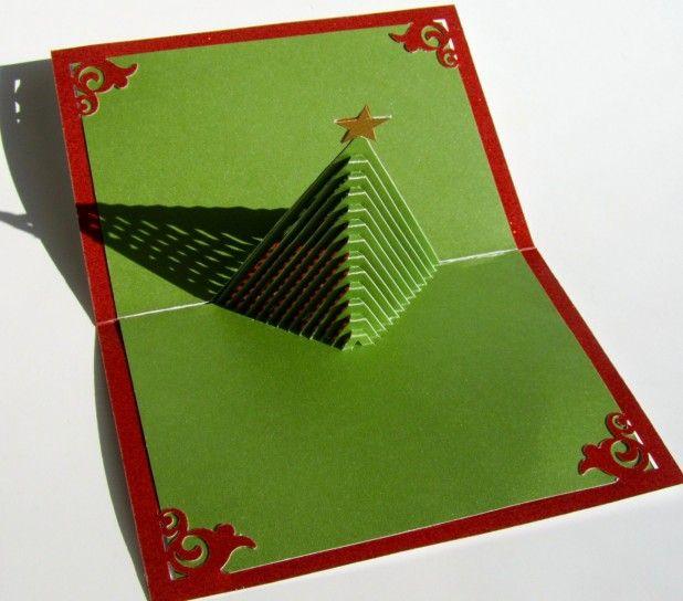 Albero di Natale fai da te tridimensionale